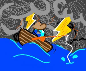 Drawception fishing