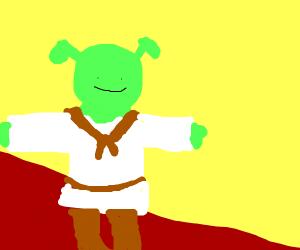 Shrek on the Red Carpet