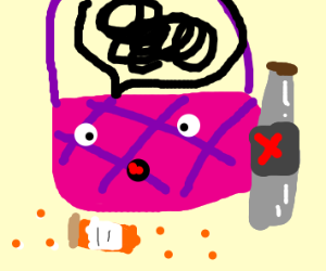 Alcoholic Purse