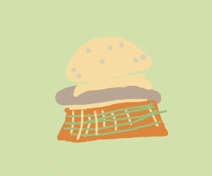 A Scottish cheeseburger