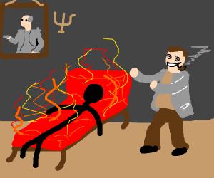 Therapist Burns Patients