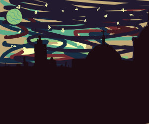 Extraterrestrial Cityscape
