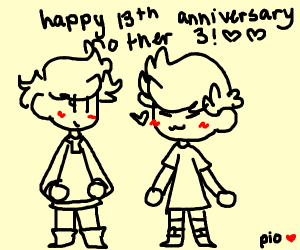 happy 13th anniversary mother 3!!