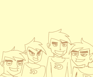 Me And The Boys but it's Danny Phantom.