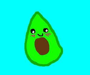 anime avocado