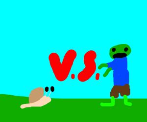 Slug vs Zombie