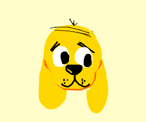 Clifford the big [yellow] dog