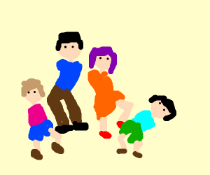 A family with no arms
