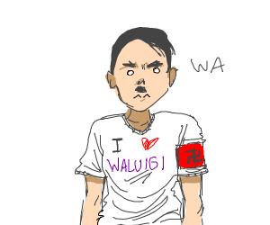 Hitler is a waluigi fan