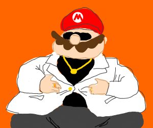 Mario is attractive and fat