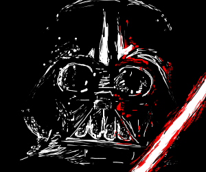 Darth Vader (really good drawing)