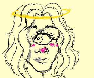 One-eyes greek angel