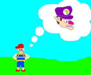 Ness wishes Waluigi was playable.