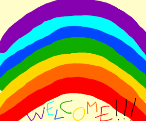 Welcome under the rainbow!