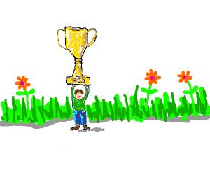 lil guy winning award