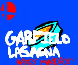 GARFIELD LASAGNAS INTO SMASH