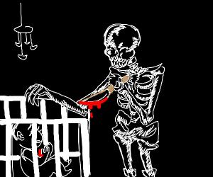 Skeleton murders baby boy