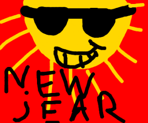 SUNNY NEW YEARS DAY