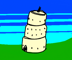 curved tower