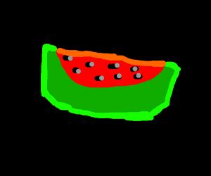Delicious red melon