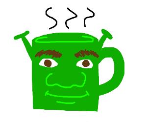 Shrek mug