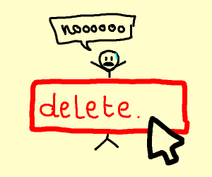 Being deleted