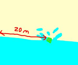 20 Meter Emerald Splash