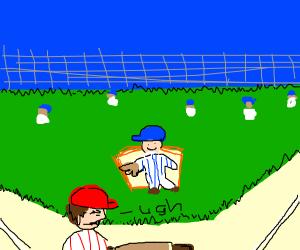 Kid regrets playing baseball