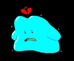 sad blue bob heartbroken