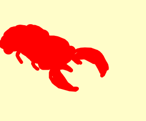 A lobster