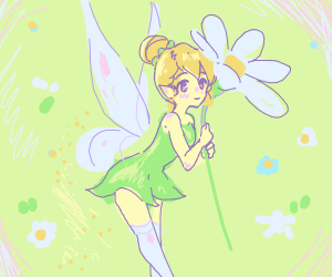 Anime Tinker Bell