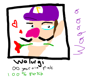 Waluigi's dating profile