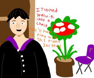 Fans: please give us waluigi  Nintendo: plant
