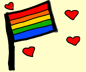 Pride! Love is for everyone :)
