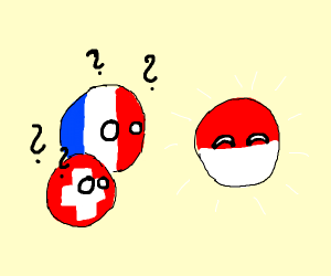 France and Switzerland are confused by Poland