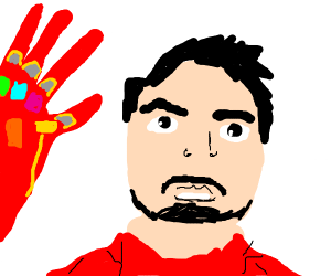 Tony Stark has had about, iron man is done