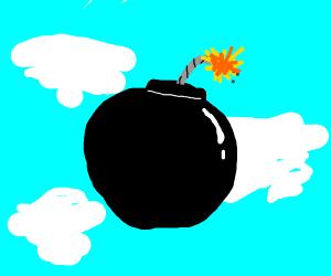 bomb in the sky