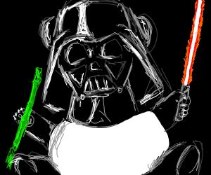 Darth Vader Panda