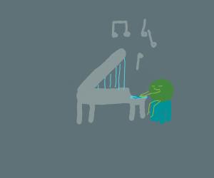 Pea Man the Piano Prodigy