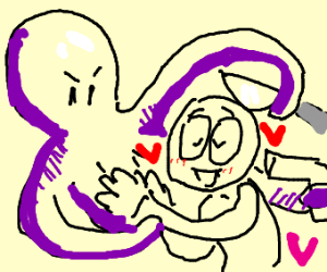 human is in love with smart murderous octopus