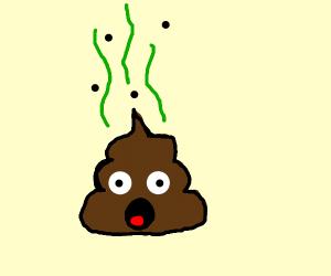 Sursprised Poop