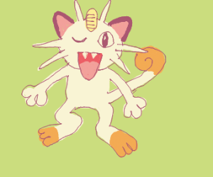 Winking Meowth