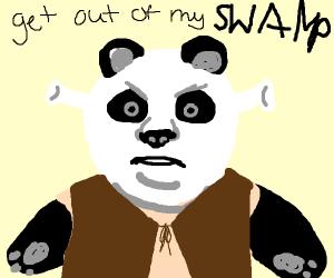 panda shrek