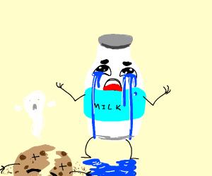 depressed milk