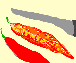 Chilli pepper structure