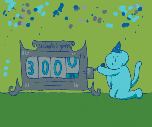 Lesingefou's 3000th drawing (congrats!)