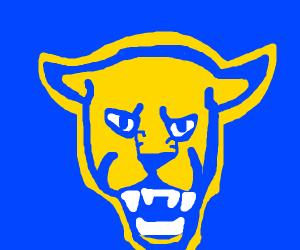 A panther logo