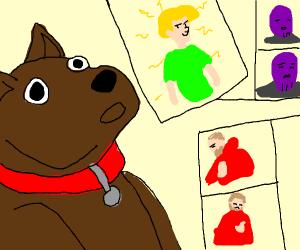 dog gets high on memes