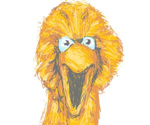 Big Bird Portrait