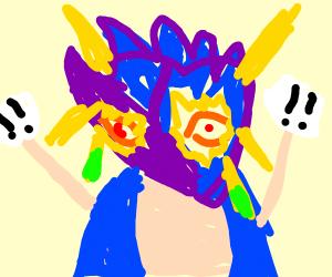 Miraculous-sonic-Majoras mask hybrid